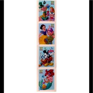 Limited Release Collectible Disney Stamps